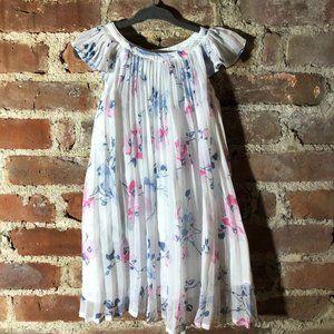 Baby Gap Flutter Pleat Chiffon Dress 3
